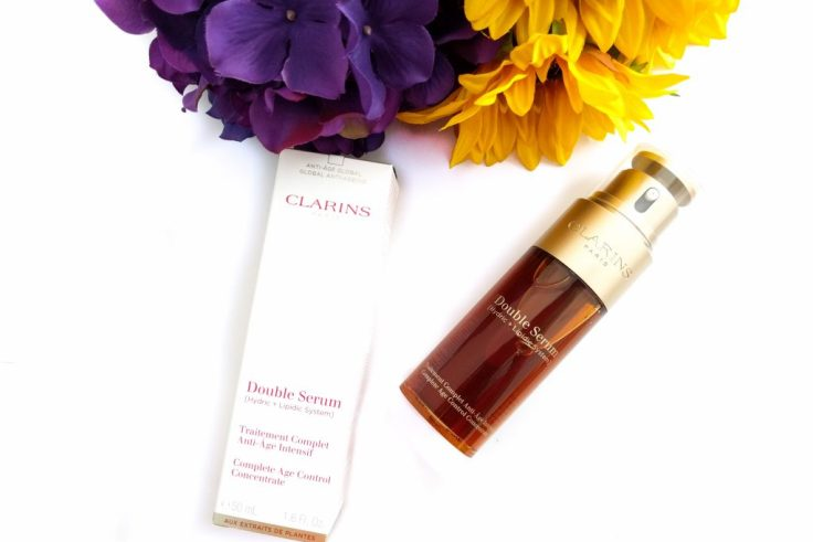 Did you say Turmeric in Clarins Double Serum?