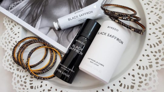 Byredo Black Saffron - Hair, Body Essentials