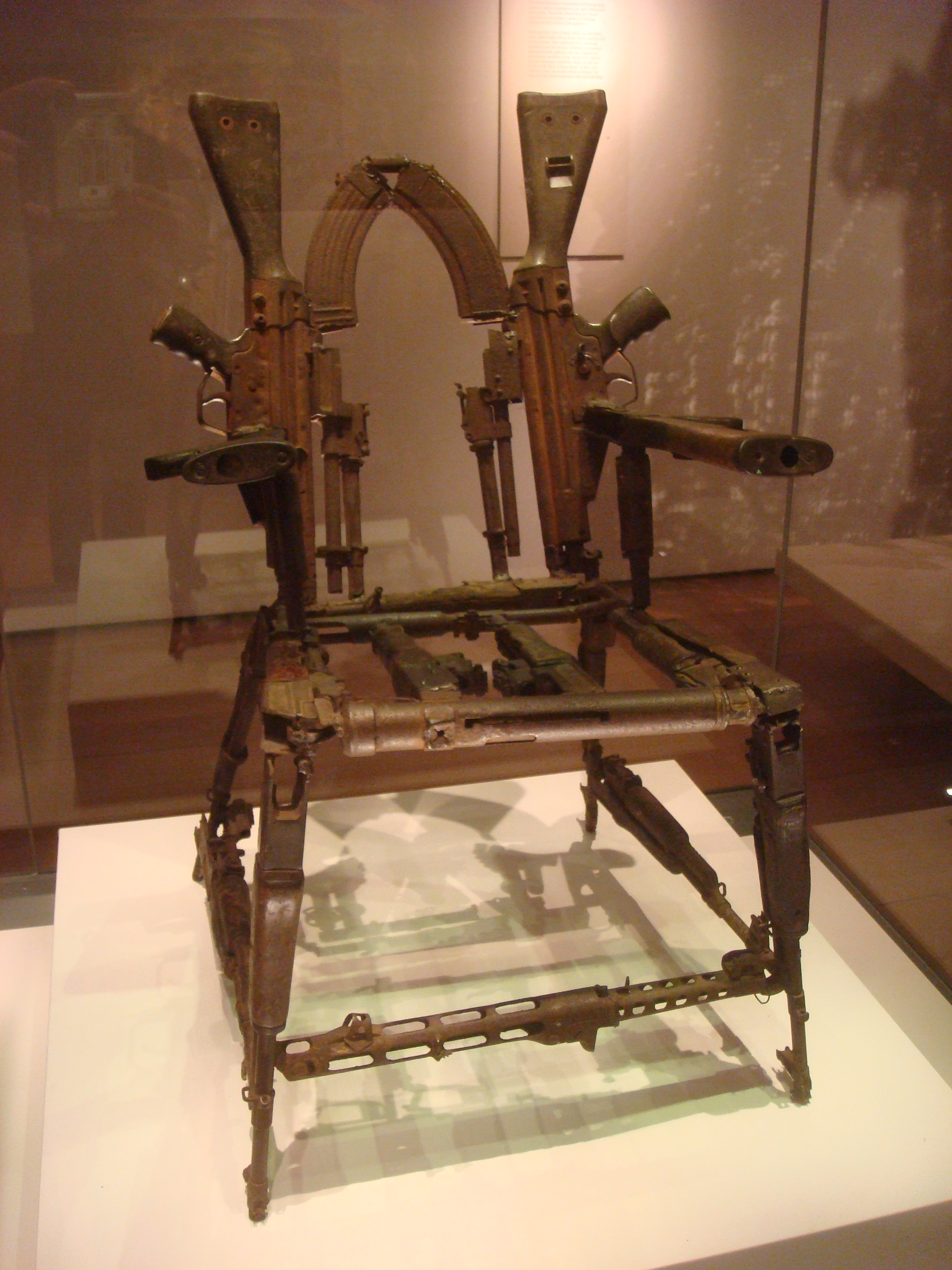Throne of Weapons by Cristovao Canhavato