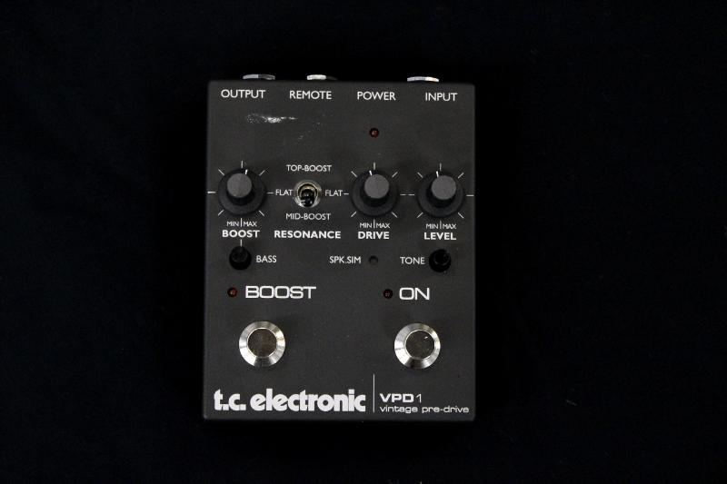 pédale noire tc electronic VPD1
