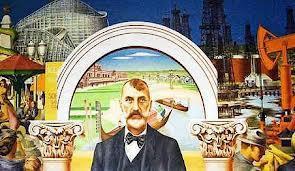 Edward Biberman mural