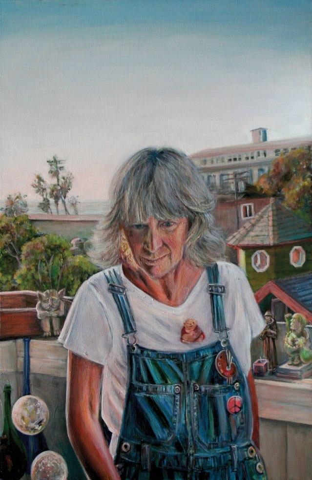 painting of Doran Marold