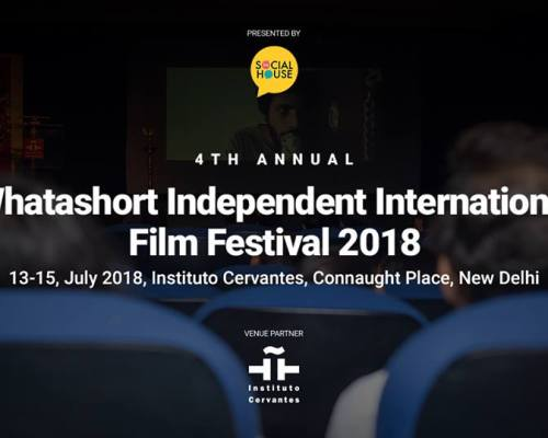 The Vent Machine collaborates with 4th Whatashort Independent International Film Festival 2018as Content Partner