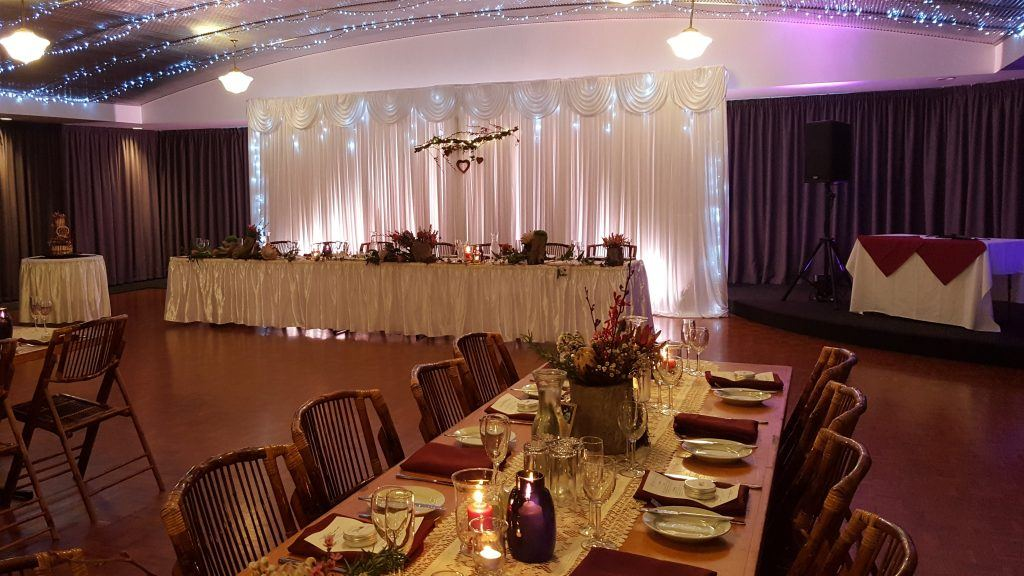 bridal table; cake table; banquet table; DJ stage; fannie bay; darwin