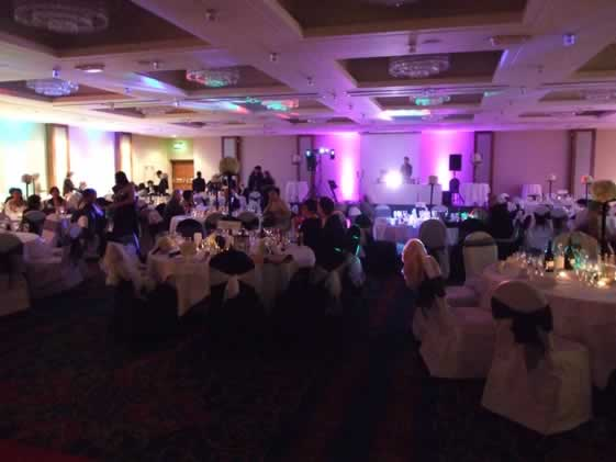 chair covers wedding manchester halloween dollar tree the uk company - venue dresser showcase renaissance london heathrow hotel