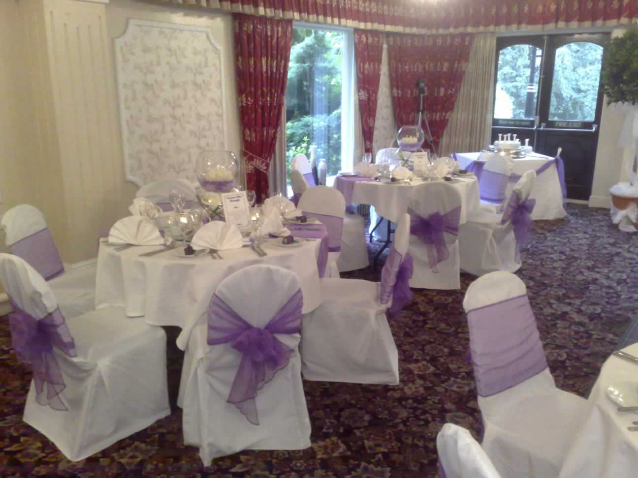 wedding chair covers warrington white with gold bows the uk company venue dresser