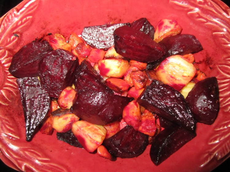 AFTER: Beets, Parsnips & Carrots
