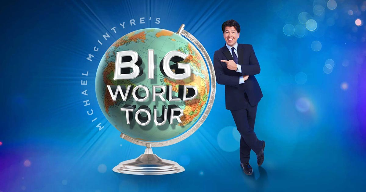 REVIEW: Michael McIntyre: Big World Tour @ Brighton Centre, 25/05/18