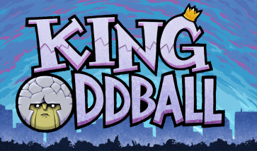 king_oddball_backround_and_logo