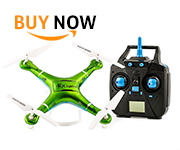 Qcopter Green Drone Quadcopter