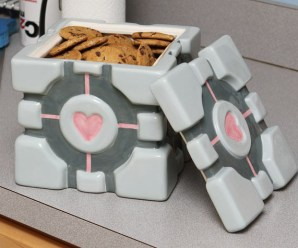 Ten Gift Ideas for Portal Fans That Look Like the Weighted Companion Cube