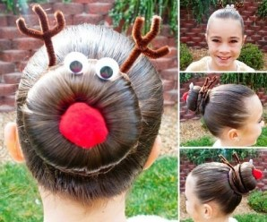 Ten of the Craziest Christmas Themed Hairstyles You Will Ever See