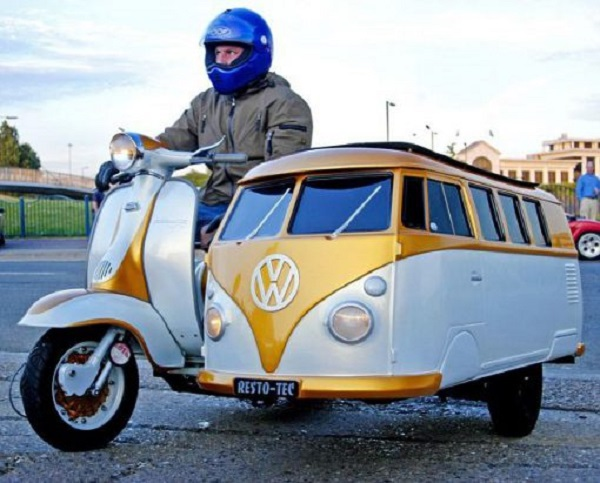 Ten of the Craziest and Most Unusual Scooters You Will Ever See