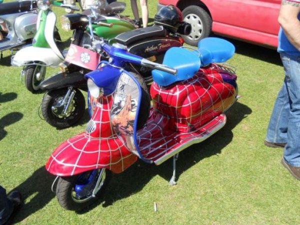 Spiderman Lambretta