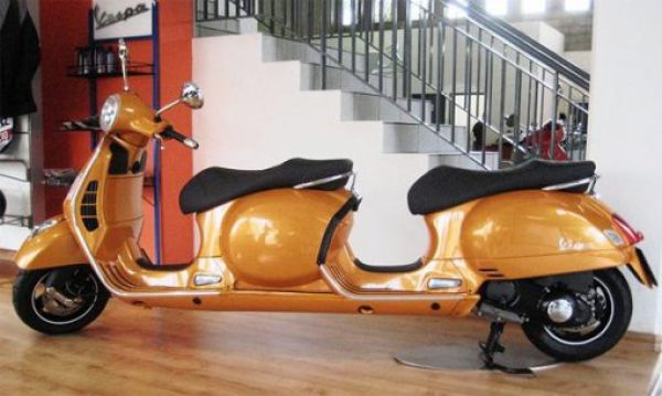 Vespa 4-seater Stretched Scooter