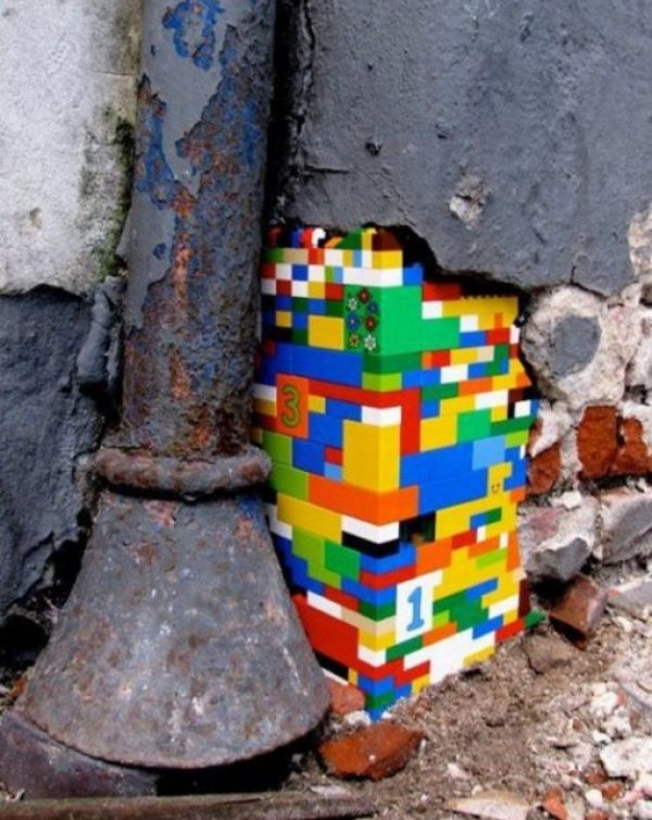 Lego Wall Repair