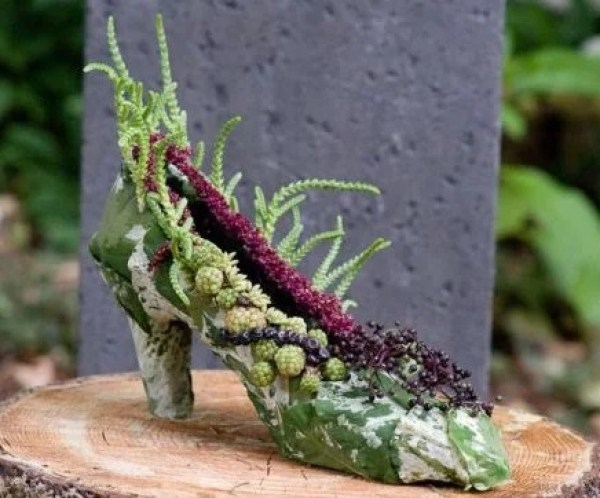 High Heal Shoe Planter