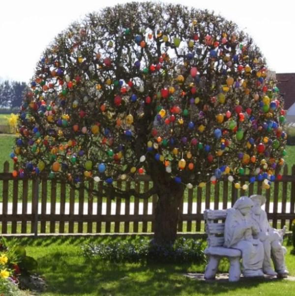 (Ostereierbaum) Easter Tree