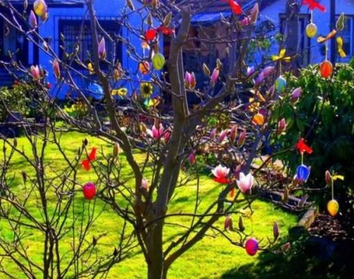 Ostereier Baums/Easter Tree