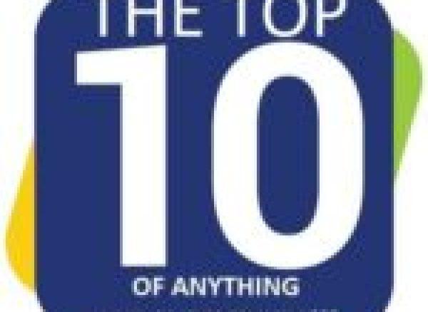 Earring holder made from vinyl record