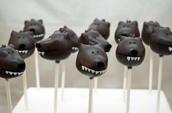 Wolf Styled Cake pops