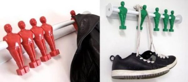 Foosball Offside Coat Hanger