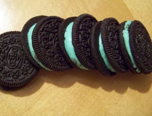 Cool Mint Oreos