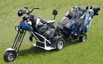 The Turf Chopper golf cart