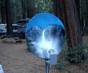 Top 10 Best Examples of Satellite Dish Art