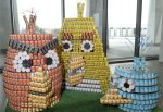 Top 10 Best and Most Creative Canstruction Designs
