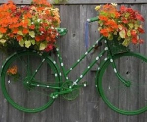 Ten Amazing Ways to Reuse, Repurpose and Recycle Old Bicycles