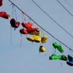 Ten Great Photos of Shoe Tossing - Aka the Art of Shoefiti
