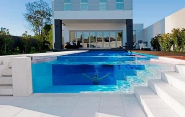 Clear Swimming Pool