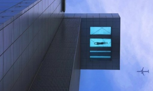 24th Storey Glass Bottom Swimming Pool