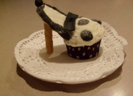 Brown High Heels Cupcakes