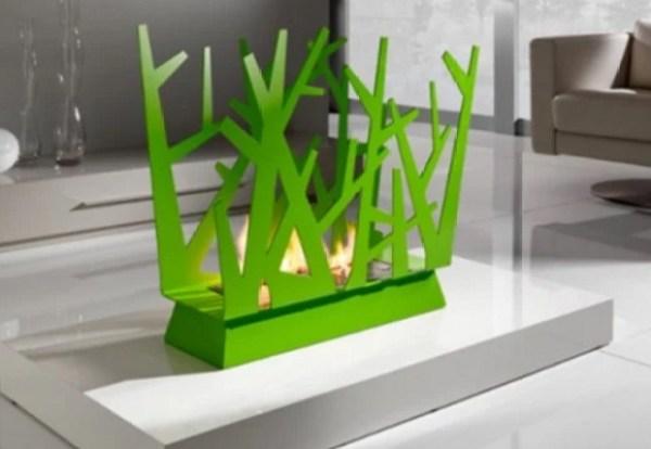 Minimalist Ergonomic Fireplace
