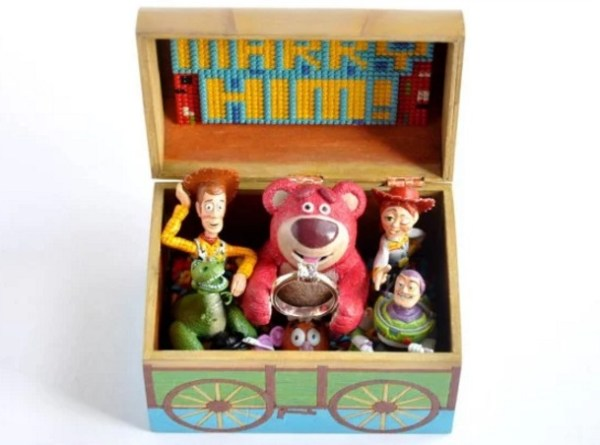 Toy Story Engagement Ring Box