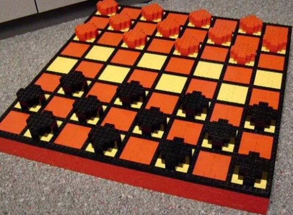 LEGO Checkers Set