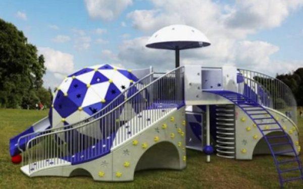 Star Designed Children's Playgrounds