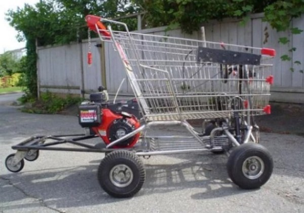 Shopping Trolley Go Kart