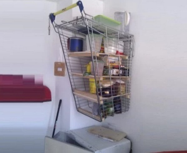 Shopping Trolley Shelves