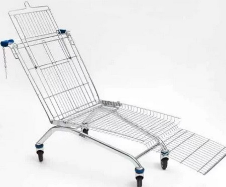 Shopping Trolley lounger