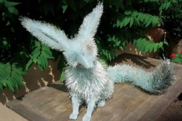 Ten Incredible Sculptures Made From Broken Glass
