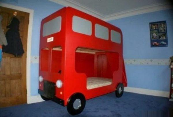 Double Decker Bus Bunk Bed