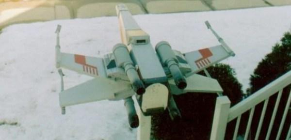 X-Wing mailbox