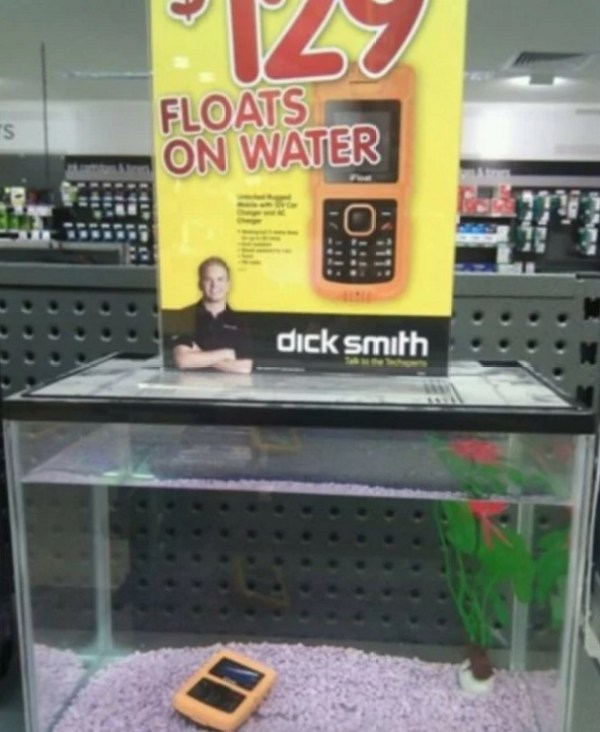 This Phone That Floats on Water Seems Legit!