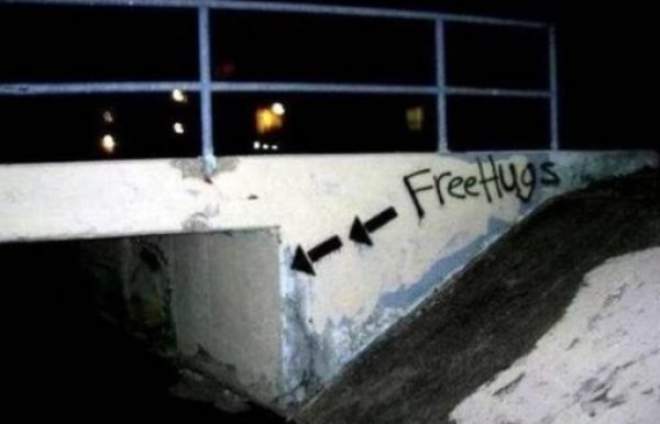 These Free Hugs Seems Legit!