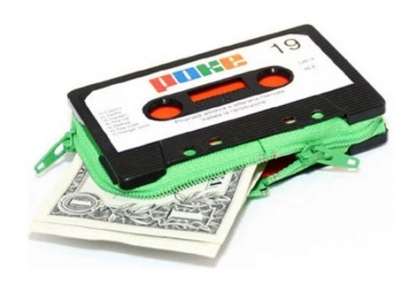 Purse Made From Cassette Tapes