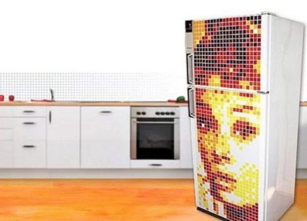 Magnetic art Style Fridge/Refrigerator