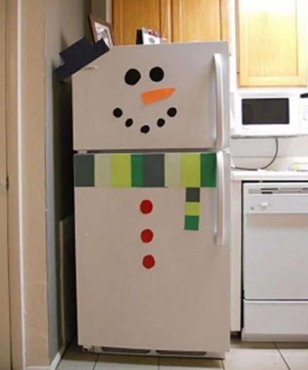 Snowman Style Fridge/Refrigerator